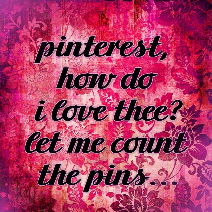 Love Pinterest. Love pinning. Love No Pin Limits.