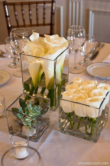 Une décoration de table qui est sans chichis, vraiment simple à réaliser et qui a un rendu très frais, plus que satisfaisant. Ce sont de simples fleurs coupés ; Arum & roses. Je pense que cela …