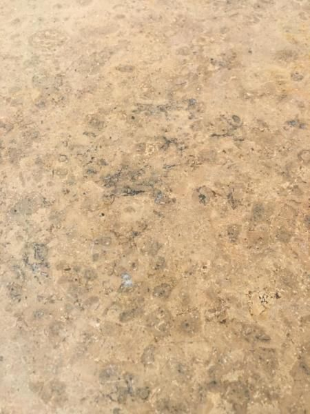 Hallo,ich biete ca. 160 Natursteinplatten (siehe Foto) an40 x 40 x 2 cmDazu gebe ich noch einige Sockelleisten und Restplatten.Platten haben noch Mörtelreste an den Flanken kleben.Gabelstapler vor Ort.Lieferung nach Absprache möglich, gerne Abholung