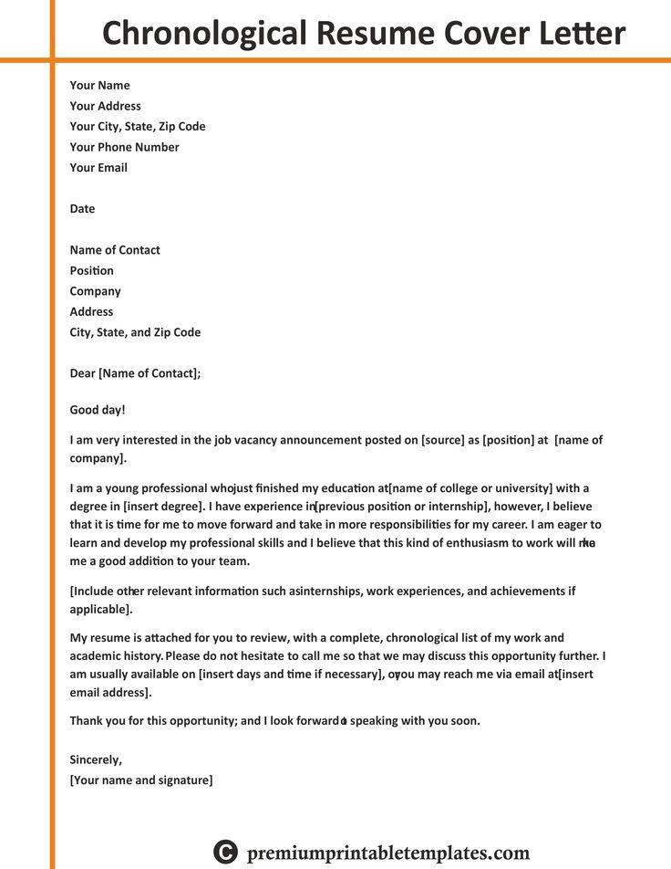 46+ Reverse chronological order resume Resume Examples