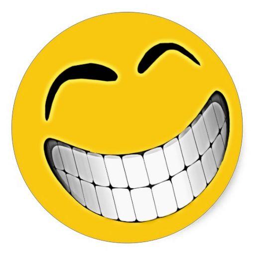 Big happy face