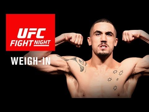 UFC Fight Night 101 Weigh-In Video & Results - http://www.lowkickmma.com/UFC/ufc-fight-night-101-weigh-in-video-results/