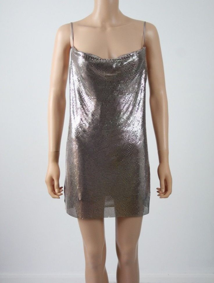 Awesome ASOS RED CARPET Chain Mail Mini Dress  UK 8 rrp £75 2017-2018 Check more at http://fashion-look.top/product/asos-red-carpet-chain-mail-mini-dress-uk-8-rrp-75-2017-2018/