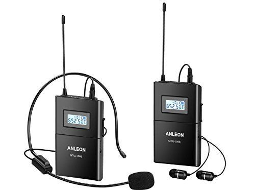 ANLEON MTG-100 Professional UHF Wireless Tour Guide System for Church Tour Guiding (1 Transmitter and 1 Receiver) MTG 100 Professional Wireless Transmitter Receiver is a popular choice from the best online products in Musical Instruments category in Canada. Click below to see its Availability and Price in YOUR country.