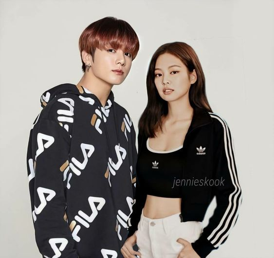 Jungkook X Jennie In 2021 Jungkook Idol Jeon Jungkook
