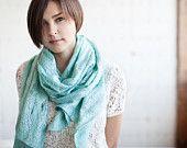50% SALE Mint scarf cobweb shawl scarf for all seasons felting wool luxury cape wedding bridesmaid idea winter fashion