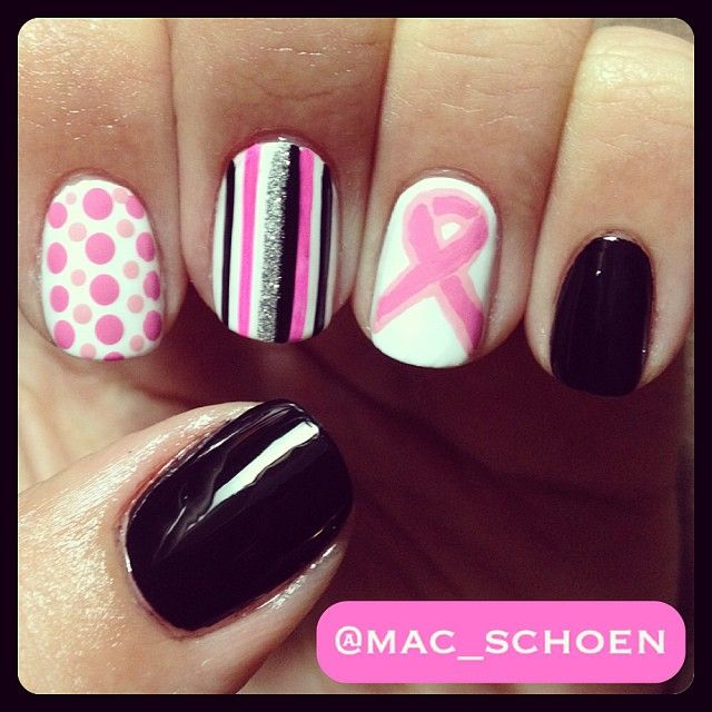 fitflops on sale philippines Breast Cancer Awareness by mac_schoen  nail  nails  nailart