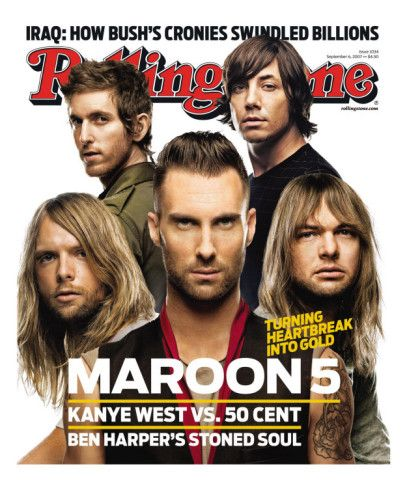 Maroon 5, Rolling Stone no. 1034, September 6, 2007 Photographic Print