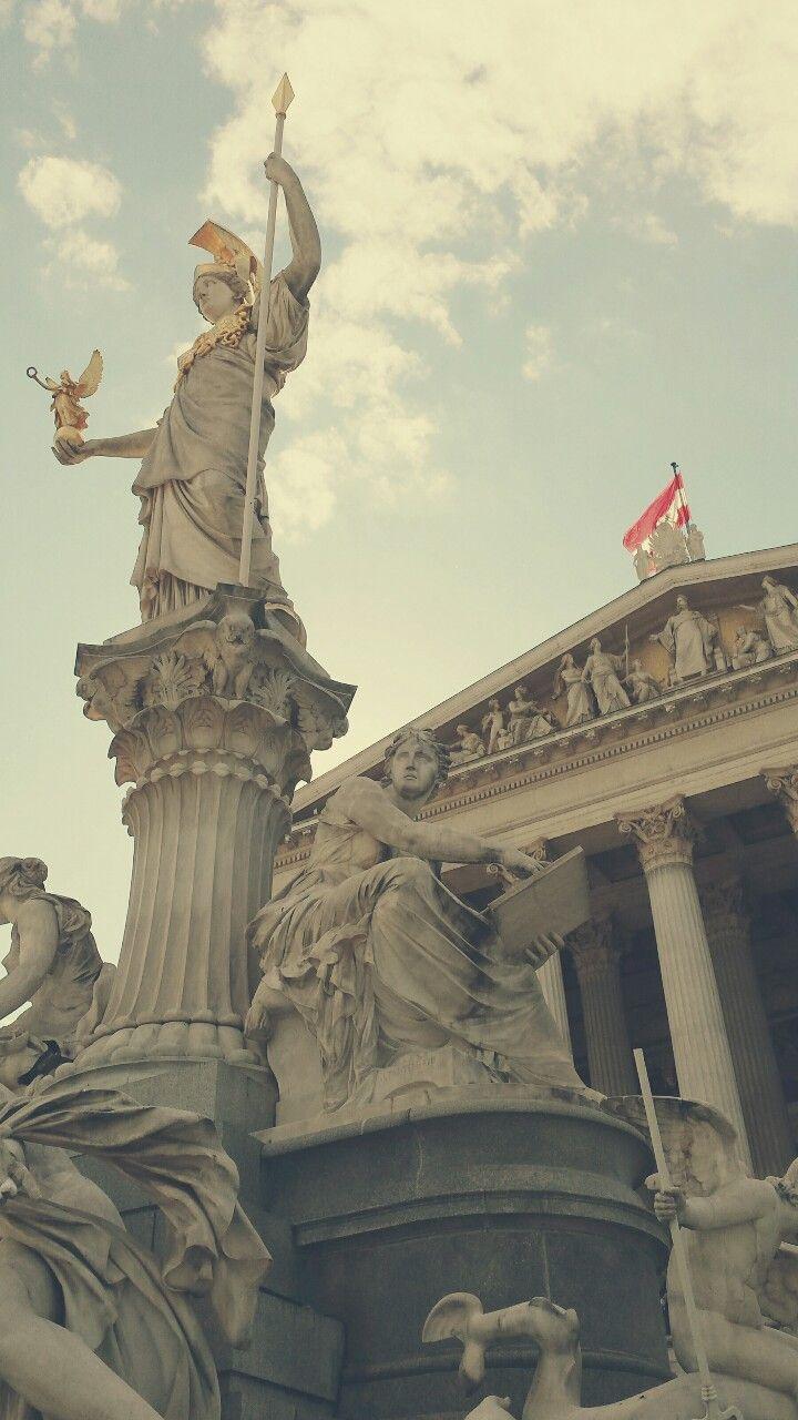 Parlament, Wien, Österreich.