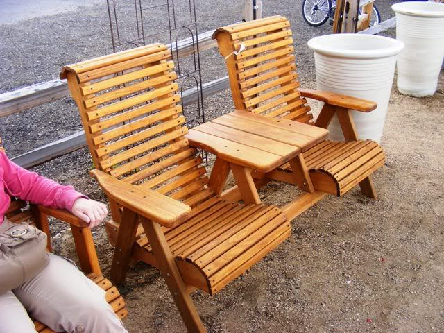 double adirondack chair with table plans woodworking. Black Bedroom Furniture Sets. Home Design Ideas
