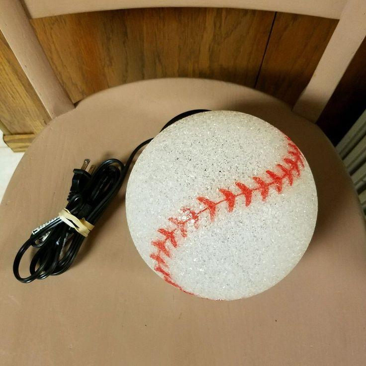 Cool #Baseball Hanging #CeilingLight #lightFixture #Boys Room #Novelty #Lights #themeroom #ebay #reseller #shopsmall #perfect #lamp