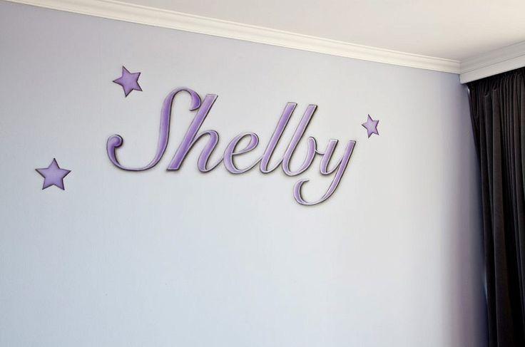 Shelby, naam schildering