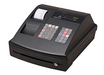 The AX-50 is entry model and low-priced ECR with integrated cash drawer.     SPECIFICATIONS   	Display 	Operator : 1 line 7 segment LED 8 digits 	Customer : 1 line 7 segment LED 8 digits    	Printer 	Single station 58mm Column (Wheel) printer    	Printing speed 	Approx. 1 lin