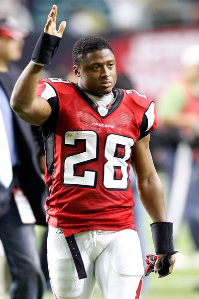 #28 Warrick Dunn, RB - Tampa Bay Buccaneers & Atlanta Falcons