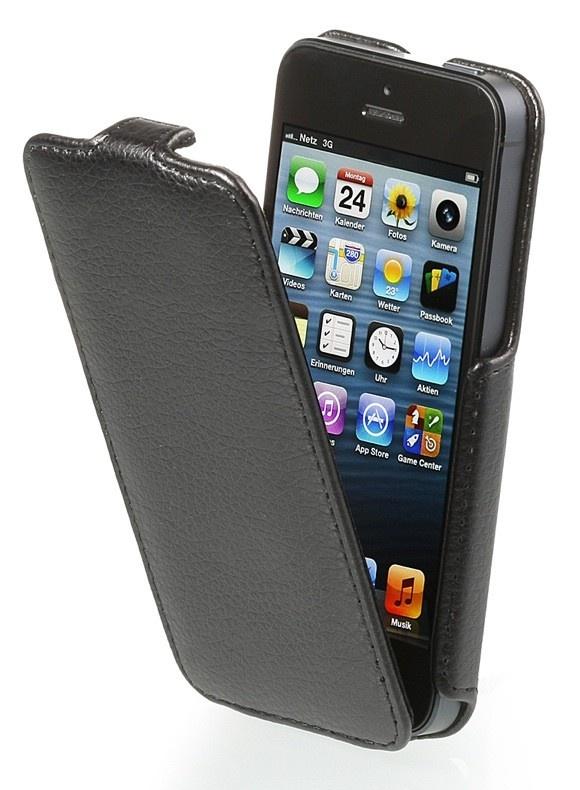 Stilgut SlimCase Slide iPhone 5 Schwarz
