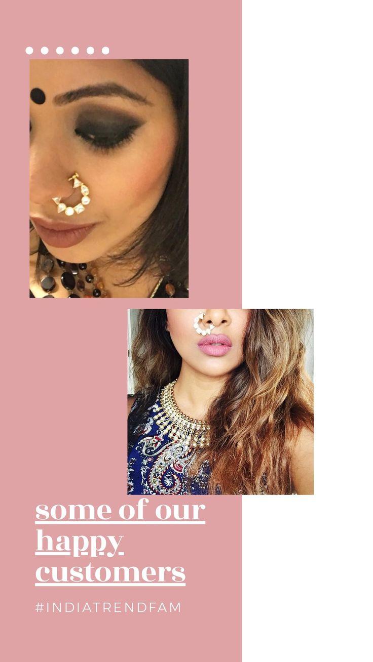 Sonam Non Pierced Nose Ring