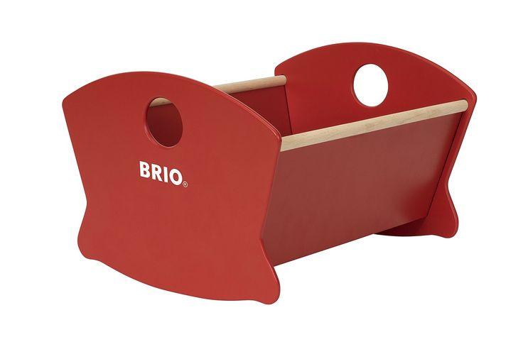 BRIO 30555 - Puppenwiege Holz, bunt: Amazon.de: Spielzeug