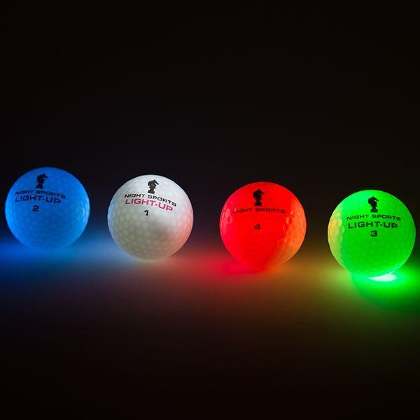 """Night Sports """"Light-Up"""" #leuchtende #Golfbälle. Ideal für Golfen bei schlechten Sichtbedingungen.   #golf #golfing #golfgods #golfer #golfporn #wintergolf #golfcourse #whyilovethisgame #golfpresent #golfballs #findgolfballs #nightgolf"""