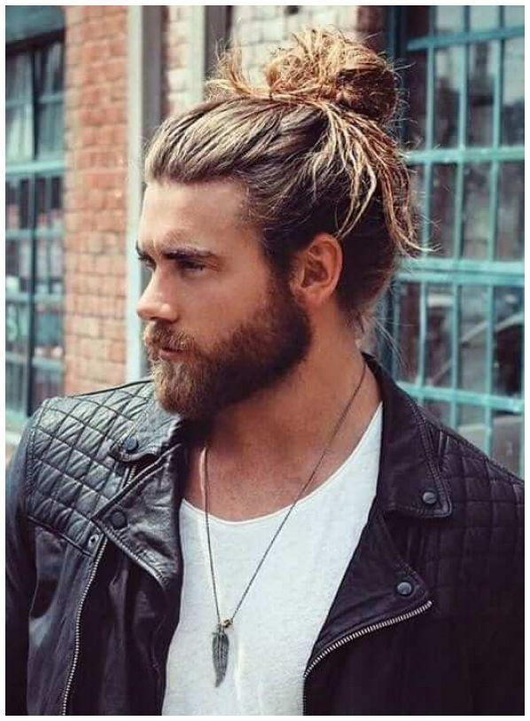 10 Model Rambut Panjang Pria Paling Keren Buat Lo In 2021 Man Bun Hairstyles Hair Styles Mens Hairstyles