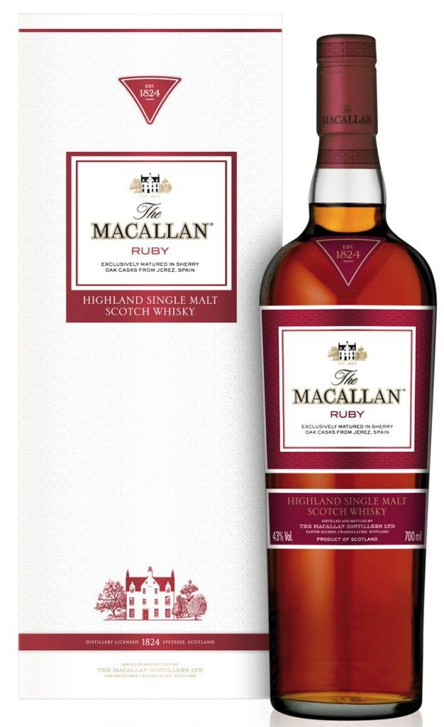 The Macallan Whisky Ruby