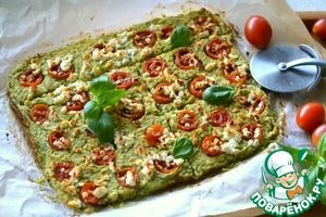 Пицца диетическая без теста