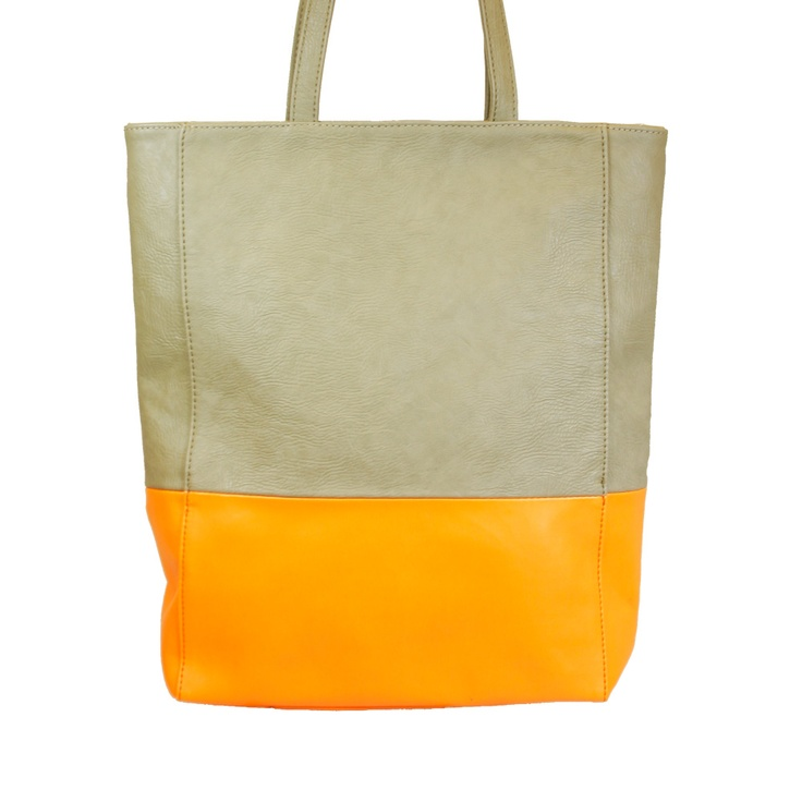 VIDA Foldaway Tote - Abstract Color Matrix 8 by VIDA HNLq7UOF3v