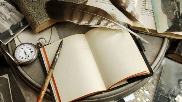 Обои книги, винтаж, бумага, открытки, блокнот, ретро