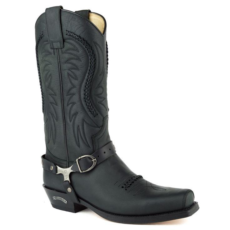 sendra boots heren cowboylaarzen zwart 12 zwart suede/nubuck Direct leverbaar uit de webshop van taft2.factiftest.nl/