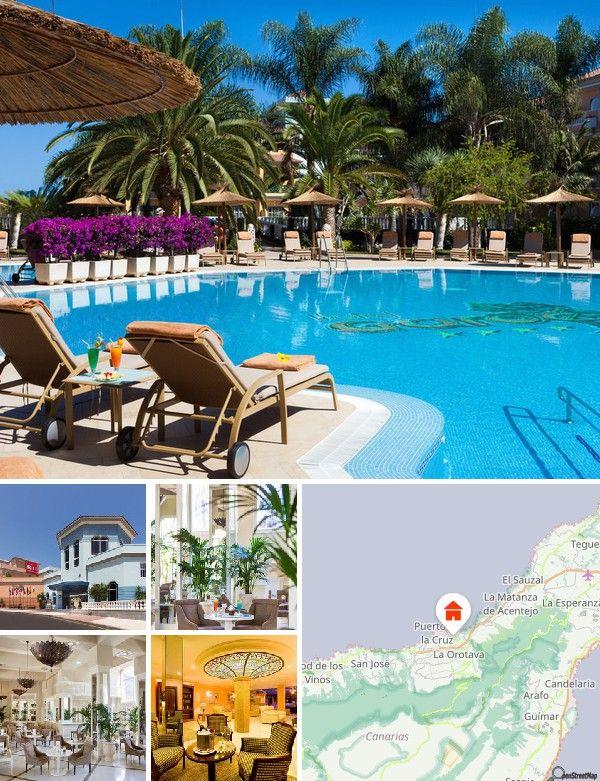 O hotel situa-se tranquilamente na localidade de La Paz, próximo de Puerto la Cruz. O jardim botânico e os restaurantes ficam a cerca de 300 m, o supermercado localiza-se a 600 m e o centro e a piscina de água do mar alcança-se a aproximadamente 2,5 km. Um serviço de autocarro shuttle para o centro estará ao seu dispor de 2ª a sábado (até ao meio-dia).