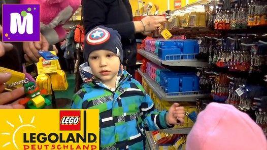 Первый день в Германии Леголэнд Фериндорф, катаемся на атракционах, плаваем на лодке с горок, выигрываем игрушки и катаемся на поезде по парку Лего Germany#1 Lego lend (Feriendorf) Germany Resorts, have fun in the LEGO Park and off the water slide Детский канал Мистер Макс и Мисс Катя !  Спасибо, что смотрите новые серии мое новое видео 2016 !  Телеканал для детей!  Thanks for watching my video!  Baby channel Mister Max & Miss Katy !  Please - Like, Comment...Subscribe to my channel…