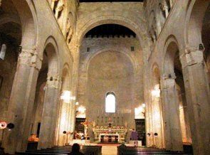 Bisceglie - The Catedral inside