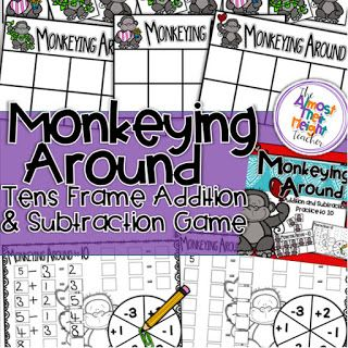 Using games in the classroom to teach math can be both fun and engaging for your students.  Check out how I use tens frame games with my class