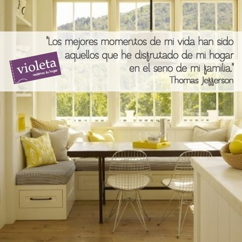 Thomas Jefferson #Frases #Quotes #Hogar