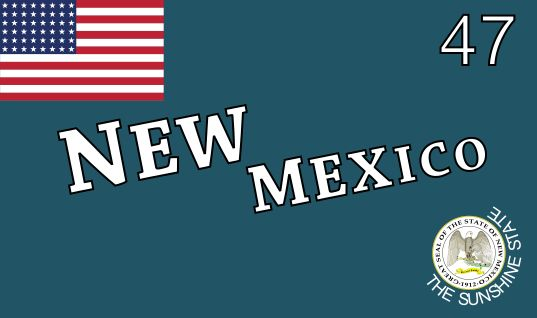 Flag of New Mexico (1912-1925) - Flag of New Mexico - Wikipedia