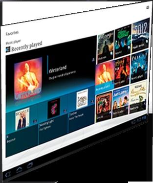 Sony parallax site. LOVE.