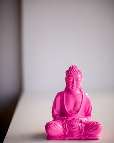 Store | Six By Eight | Makers | Neon Pink Buddha 20cm   sixbyeight.com