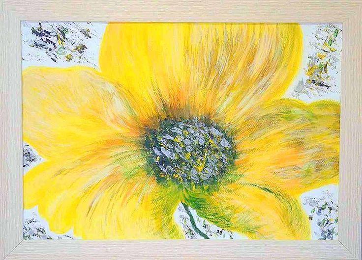 Sunny-yellow life-flow