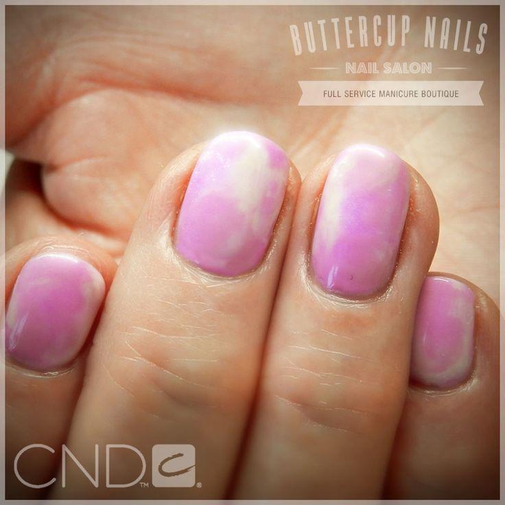 CND marbled Shellac with Beckoning Begonia as the base.  #CND #CNDWorld #CNDShellac #Shellac #nails #nail #nailstagram #naildesign #naildesigns #nailaddict #nailpro #nailart #nailartist #nailartdesign #nailartofinstagram #nailartdesigns