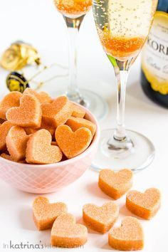 DIY Champagne Cocktail Sugar Cubes: Angostura bitters-spiked sugar cubes turn ordinary Champagne into a deliciously different cocktail.