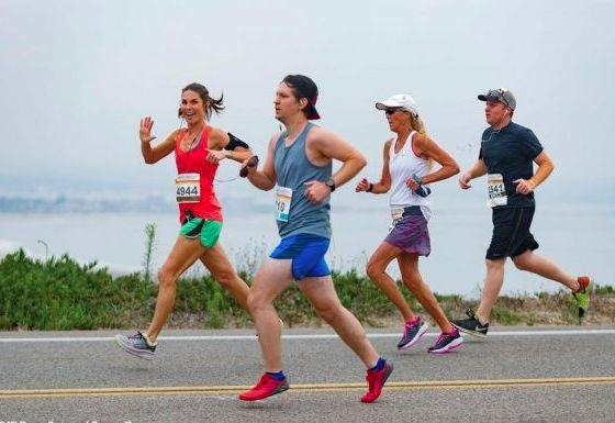 Check out these pics from this year's AFC Half Marathon in San Diego, CA!
