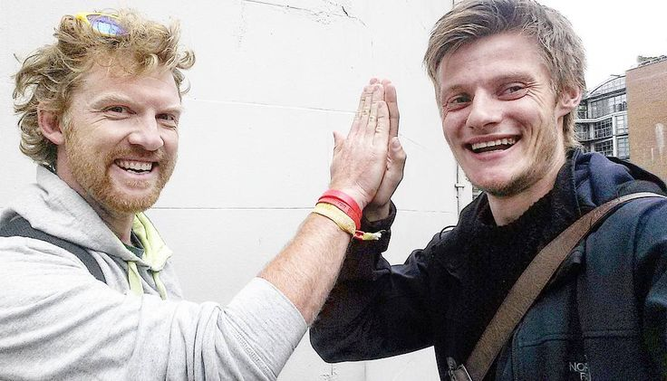 So yesterday as I came out of the Russian Visa application centre I happened to bump into this amazing man @davecorn. It was such a pleasant shock as over 8 months ago I left from his festival 'Yestival' on my bicycle... This man is my role model and actually gave me part of the inspiration to do this expedition! Thanks Dave!  #travel #travelling #sayyesmore #yestival #london #thehopefulvagabond #dontjustexistlive
