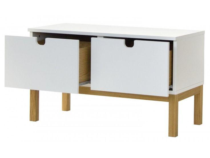 Komoda Kubus — Komody Tenzo — sfmeble.pl  #scandinavian  #style  #interior  #homedesign #furniture #white