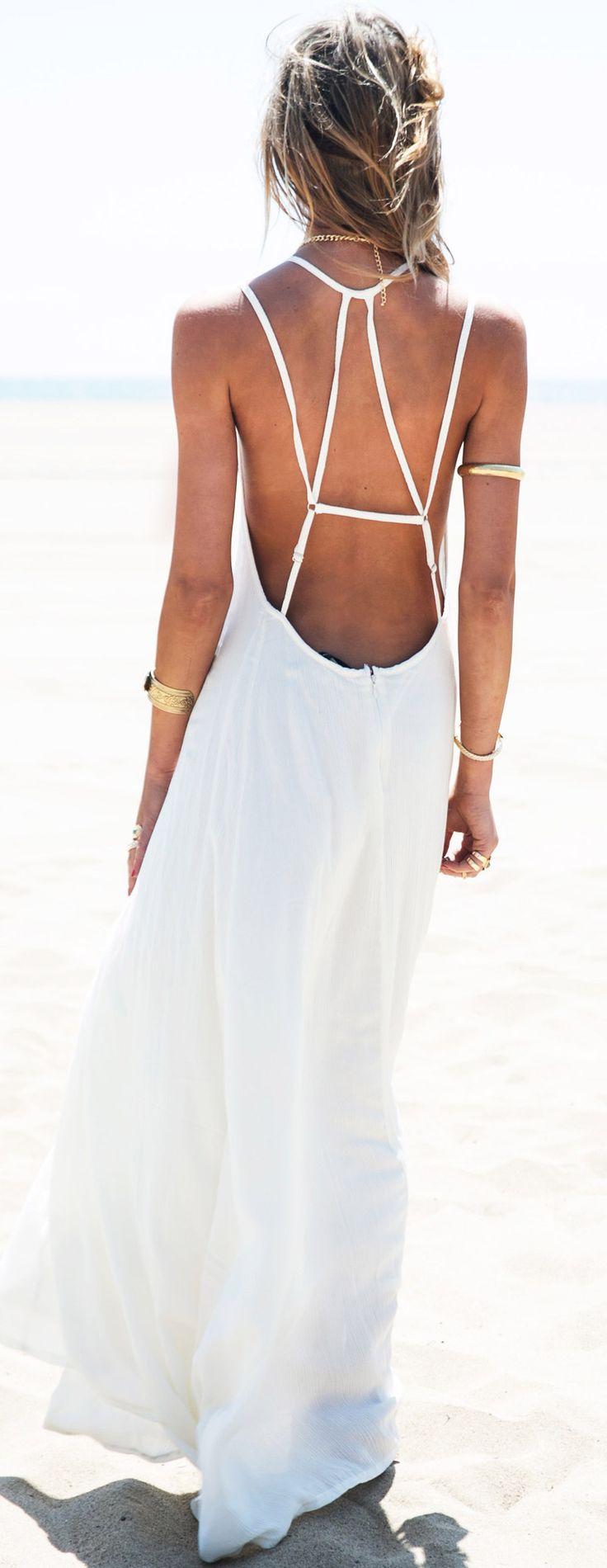 envy t back maxi dress