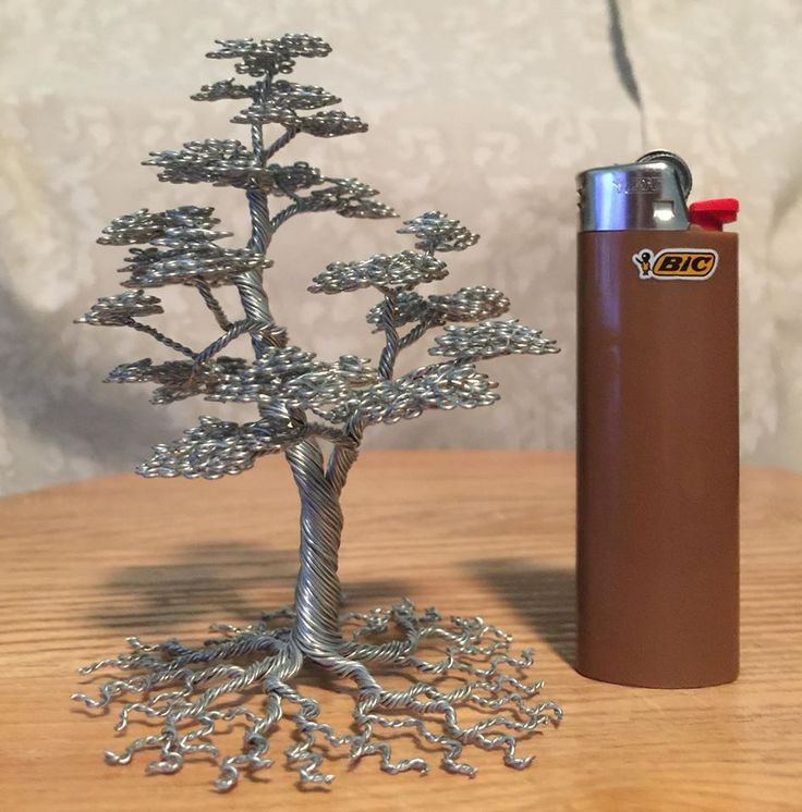 wire bonsai