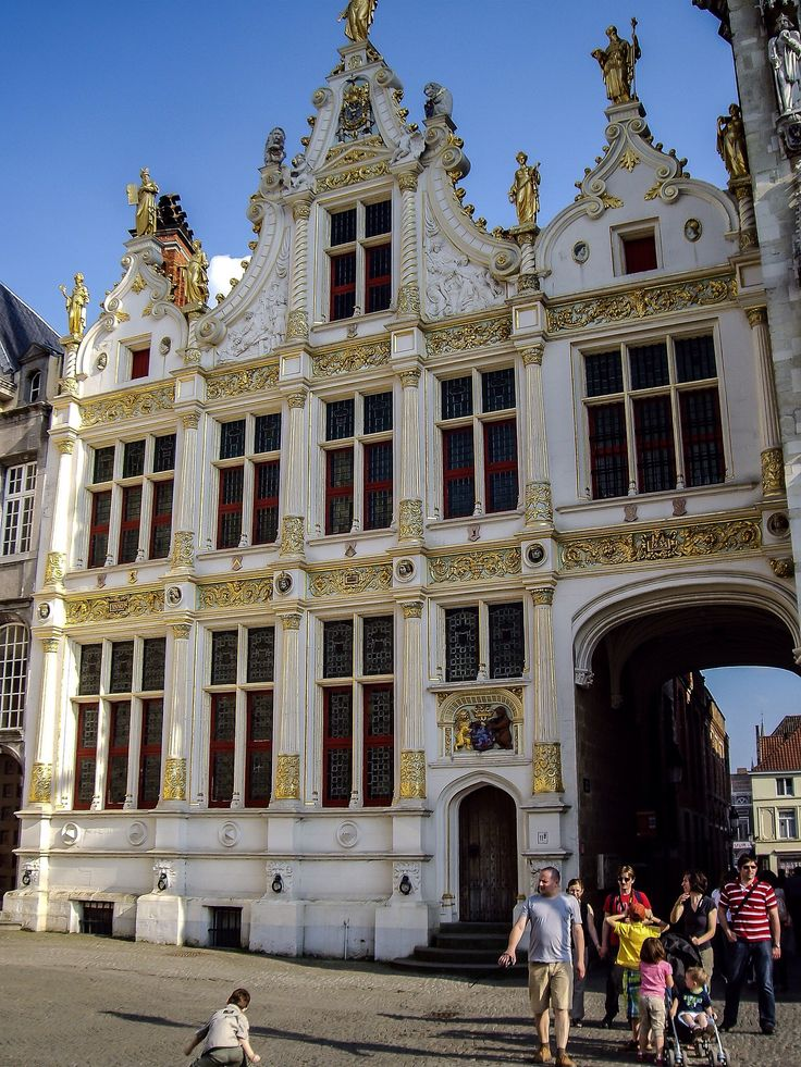 Palacio de Justicia, Brugse Vrije (Brugge - Belgium)