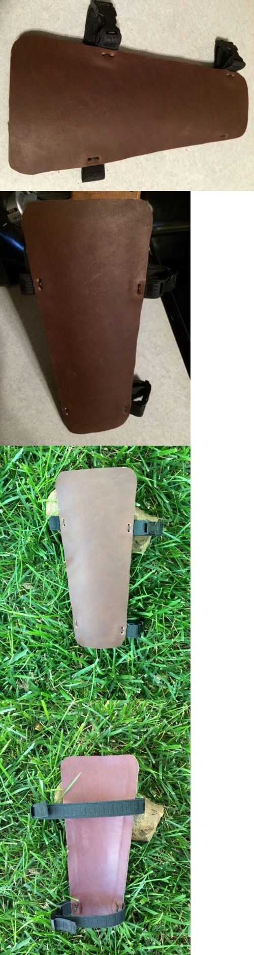 Arm Guards and Chest Guards 181298: Usa Men S Women S Handmade Custom Leather Traditional Compound Archery Arm Guard -> BUY IT NOW ONLY: $30 on eBay!