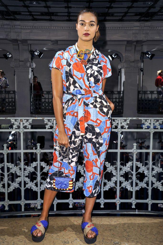 Stella Jean for Marina Rinaldi RTW Spring 2017 – WWD