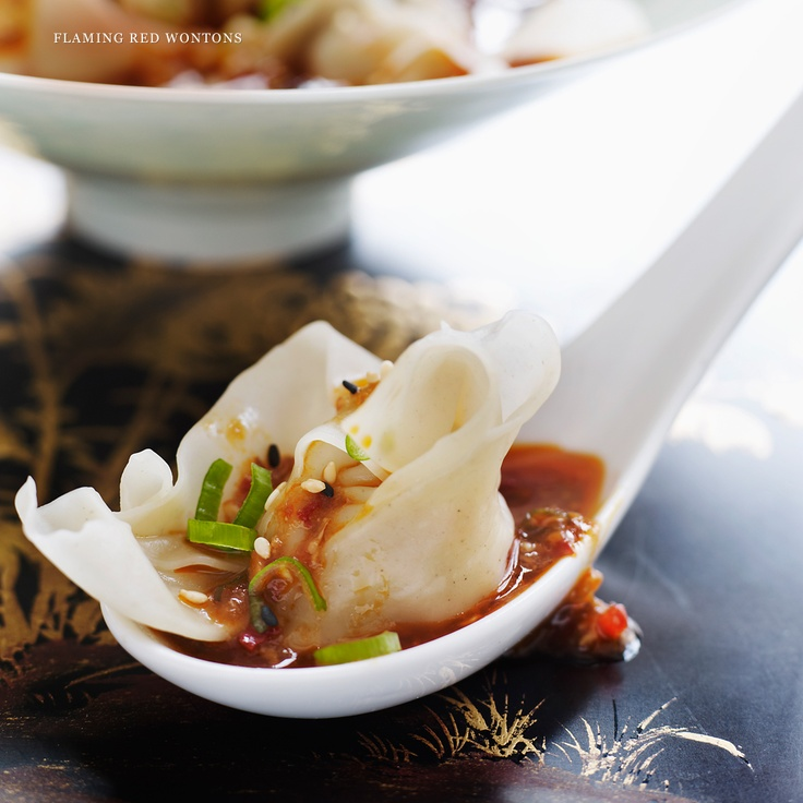 """P.F Changs Dumplings """"We've taken the simple dumplings served along the Silk Road and refined them, offering a variety of familiar, yet new and exciting offerings. """""""