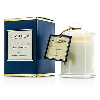 Triple Scented Candle - Coney Island (Burnt Sugar & Fig) - 60g