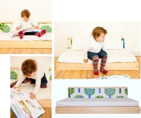 Lettino-futon per bambini by Madori Design #mobili #bimbi